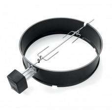 Otáčecí grilovací špíz WEBER pro kotlové grily 57 cm