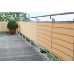 Balkónová plachta 90x500 cm barva sisal
